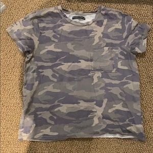 Abercrombie and Fitch camo t-shirt